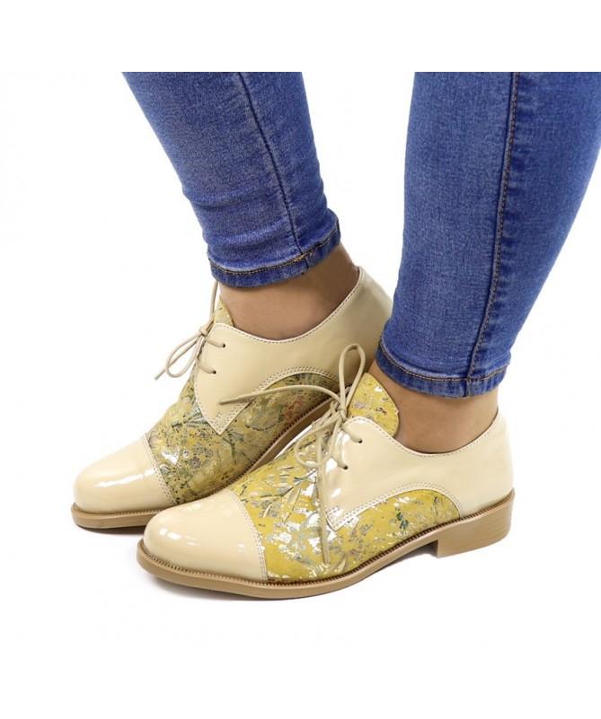 Sapatos Rasos Ginova Floridos