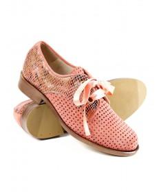 Sapatos Rosa Rasos Oxford Ginova