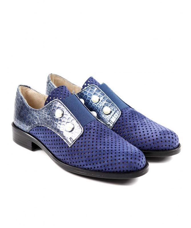 Sapatos Rasos Oxford Ginova de Elástico