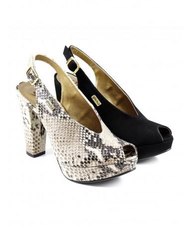 Sandálias de Senhora de Corte Elegante Ginova