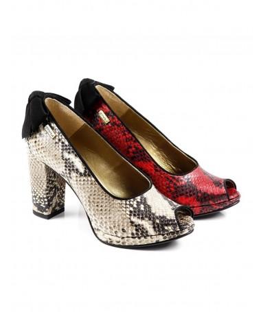Sapatos de Senhora com Laço Atrás Ginova