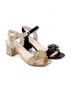 Sandálias de Senhora Ginova com Aplicação