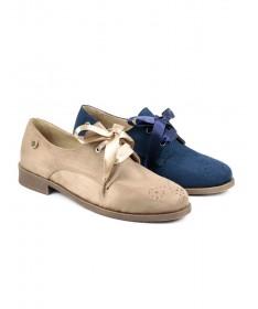 Sapatos de Senhora Ginova tipo Oxford
