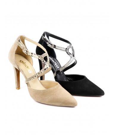 Sapatos de Senhora de Tacão Fino Ginova