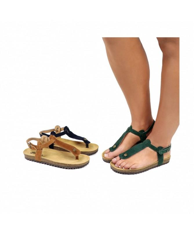 Sandálias Rasas de Senhora Anatómicas Ginova