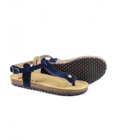 Sandálias Rasas de Senhora Anatómicas Ginova Azuis