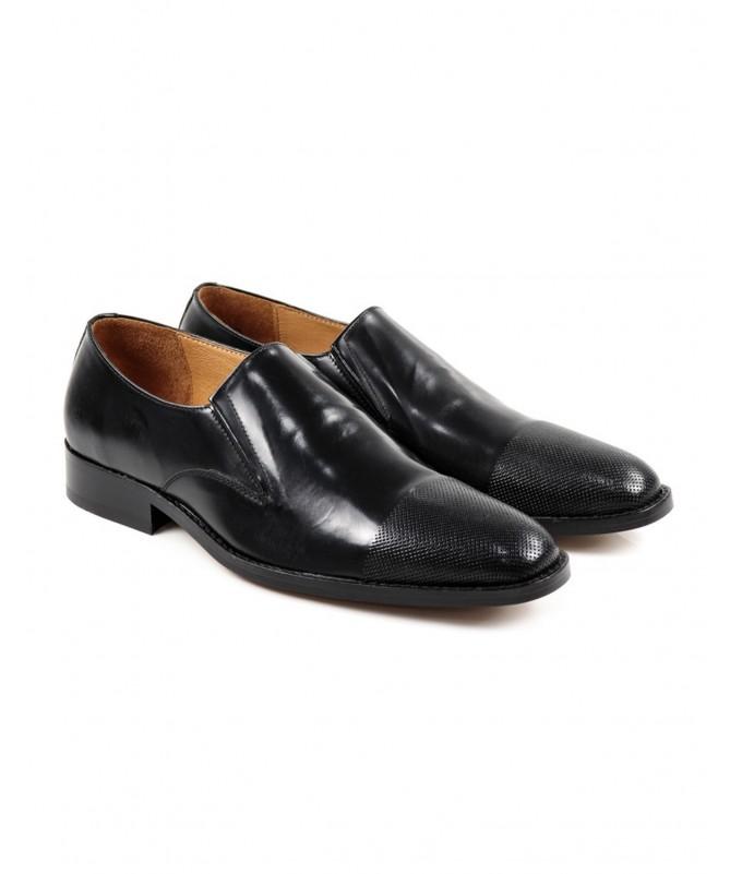 Sapatos Pretos de Homem Elegantes Ginova