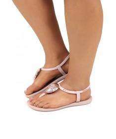 Sandálias Ipanema de Senhora Nude com Concha