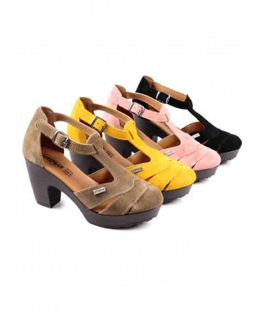 Sandálias Compensadas de Senhora Ginova