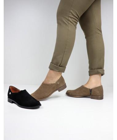 Sapatos Rasos Ginova com Fecho