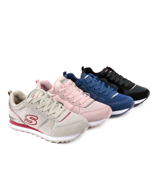 Sapatilhas Skechers Step N Fly Pretas