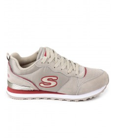 Sapatilhas Skechers Step N Fly Taupe