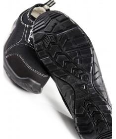 Sapato Preto de Biqueira de Aço Deltaplus