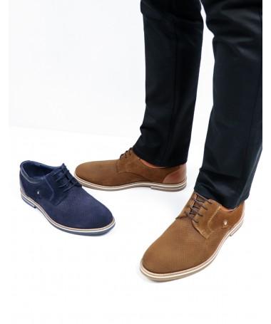 Sapatos de Homem Ginova em Camurça