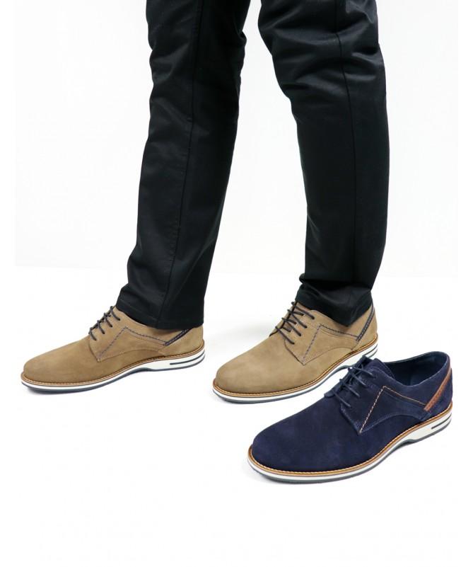 Sapatos de Homem Ginova de Camurça