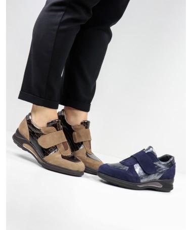 Sapatilhas Femininas Ginova com Velcro