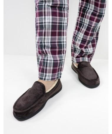 Pantufas de Homem com Pelo