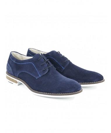 Sapatos Azuis de Homem  Casuais Elegantes