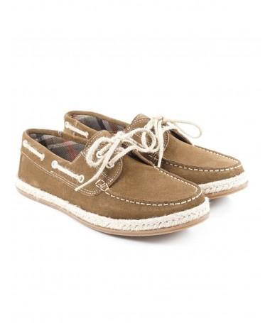 Sapatos Taupe de Vela de Homem Confortáveis