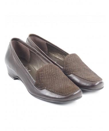 Sapatos de Senhora com Croco na Frente