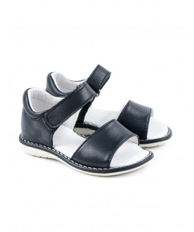 Sandálias Azuis de Criança com Velcro
