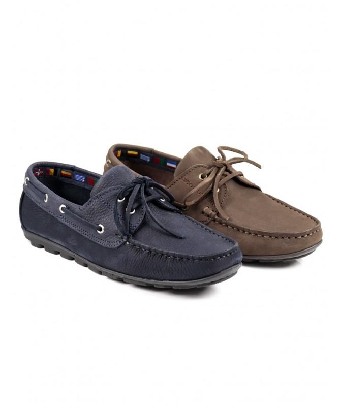 Sapatos de Vela de Homem Ginova com Sola Antiderrapante