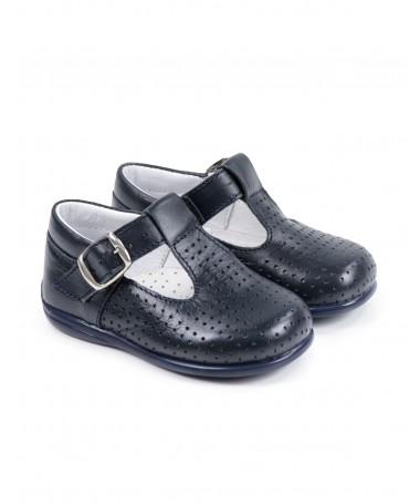 Sapatos de Criança com Fivela