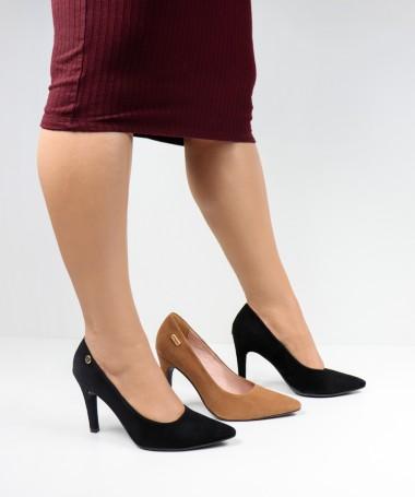 Stilettos de Senhora em Nobuck Ginova