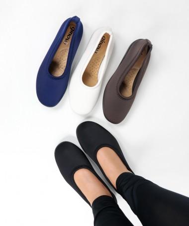 Sapato de sra elastico