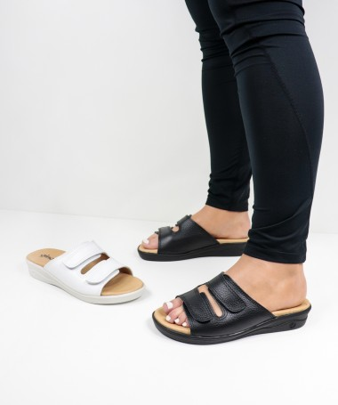 Chinelos Ortopédicos de Senhora com Velcro Ginova