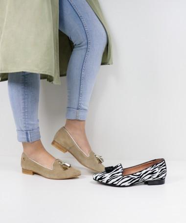 Sapatos Rasos de Senhora Ginova com Berloques