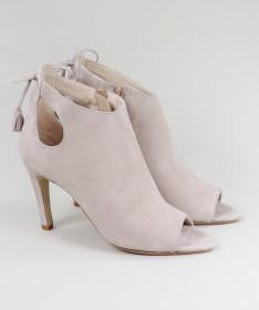Sandálias Rosa de Senhora Ginova Elegantes