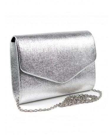 Pochete Prata de Senhora Tipo Envelope